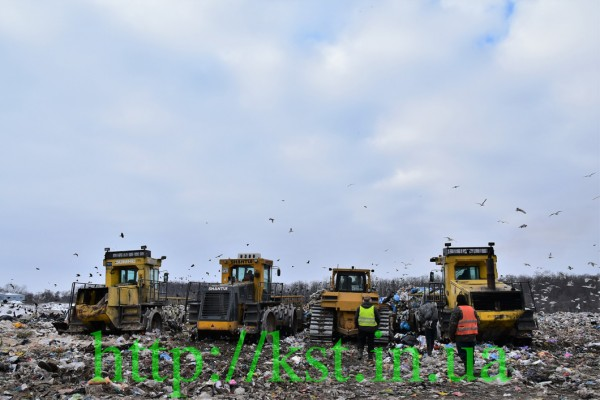 Landfill: renovation status as of 24.01.19